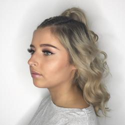 Makeup & Braid style