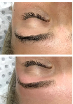 Brow Lightening