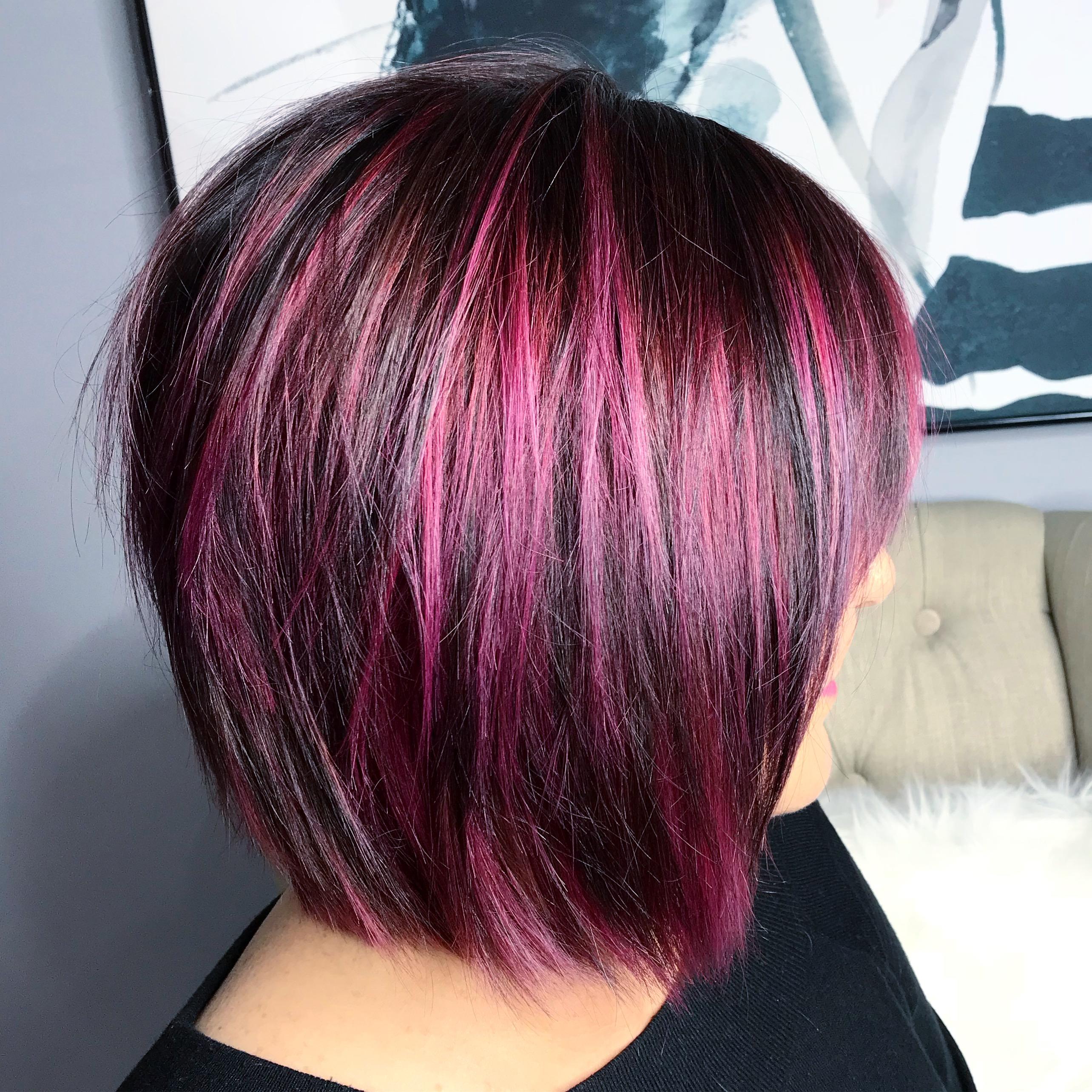 Garnet hair