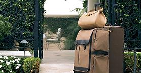 茶色の荷物
