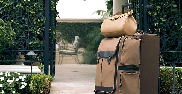 Braunes Gepäck
