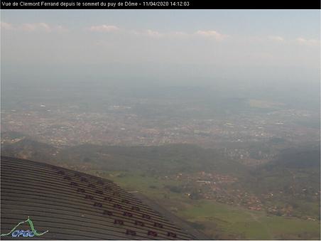 Webcam du sommet du Puy de Dôme