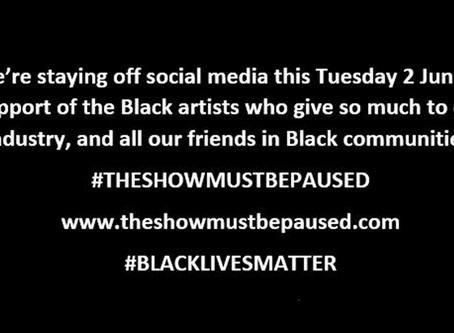 #THESHOWMUSTBEPAUSED #BLACKLIVESMATTER