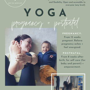 flyers for BOS YOGA (design + copy)