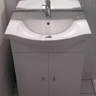Meuble salle de bain, vasque simple