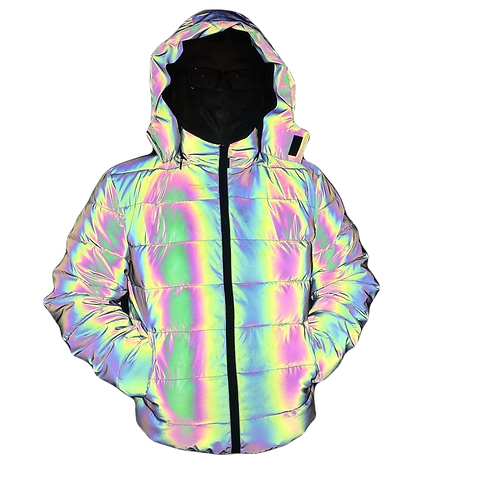 Krypton Ice Jacket (Unisex Hooded Reflective Jacket)
