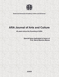 ARA Journal of Arts and Culture