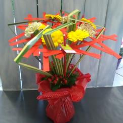 Bouquet structure étage