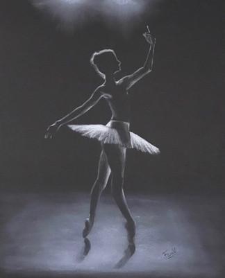 Dancer II by Francisca Valdes