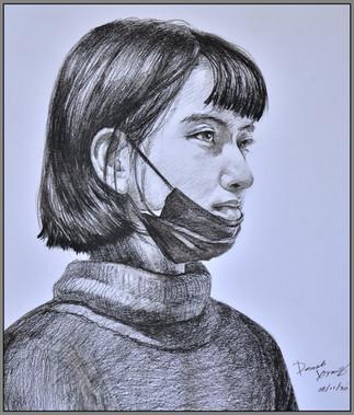 Covid-19 by Pamela Xiang