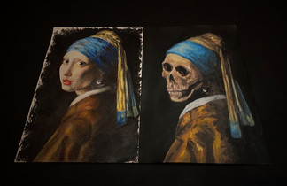 Girl with a Pearl Earring - Life and Death by Liene Kudina