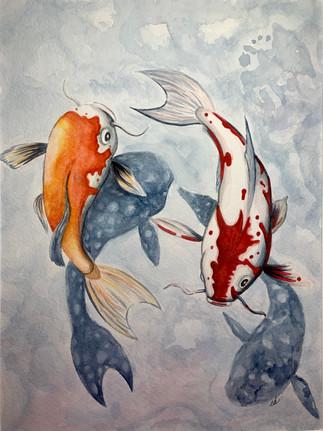 Yin and Yang by Emily Dye