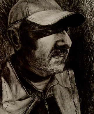 Portrait of Dad by Alexandra Litinskiy