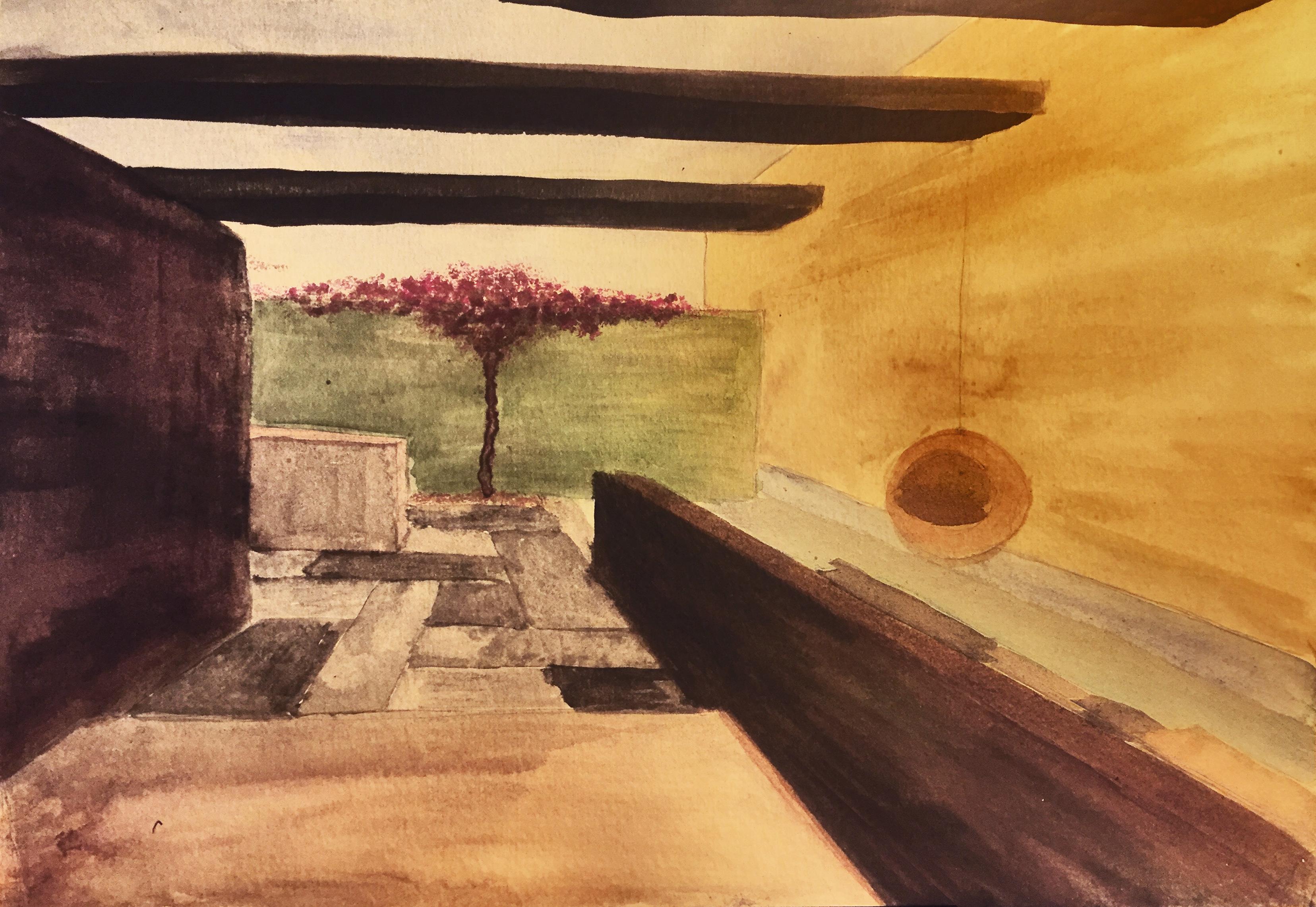 desert house-aqua
