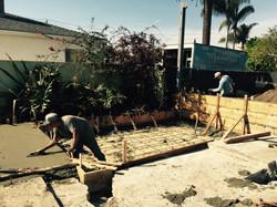 redwood construction-foundation