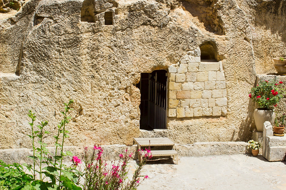 May 2018 The Garden Tomb in Jerusalem Is