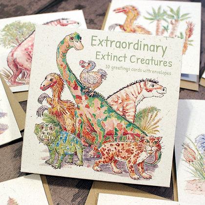 Extraordinary Extinct© Luxury Greetings Cards Pack