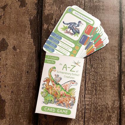 Extraordinary Extinct© Card Game