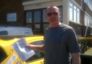 David Hart passed 1st time with us.