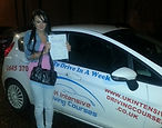 Intensive driving courses passed