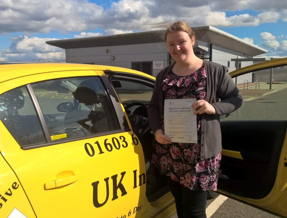 Maria worship passed with 2 minor faults. #intensivedrivingcourses #drivingschool #drivinglessons #norwich #learntodrive