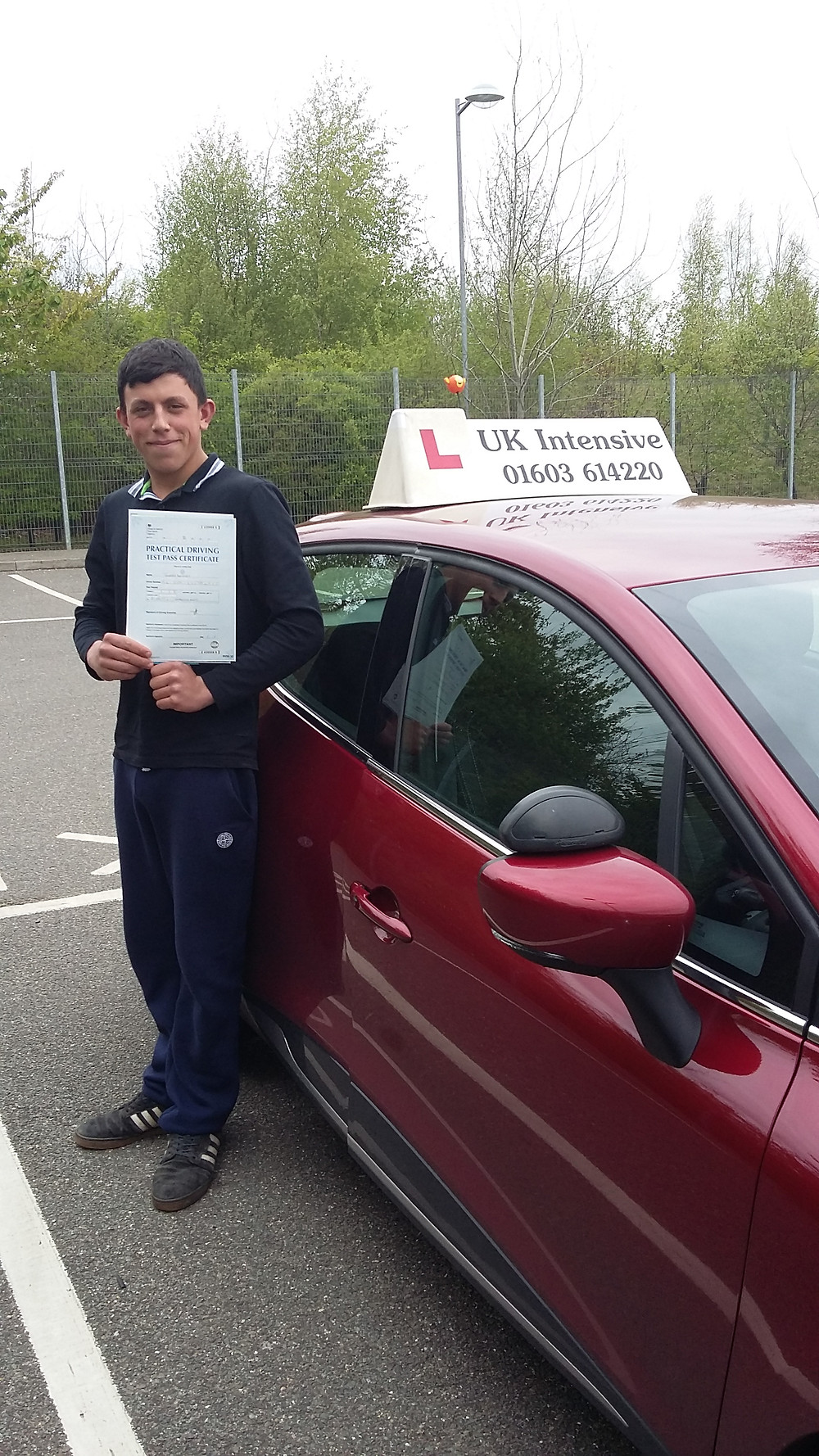 passed with us on our intensive driving course. #intensivedrivingcourses #drivingschool #drivinglessons #norwich #learntodrive #ukintensive #pass #driving #tuition