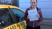 Ellen fait passed with just 3 minor faults.