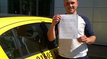 Aaron Blanchflower passed 1st time with us.