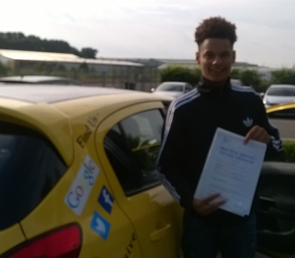 Julius van Bleek passed 1st time with us. #intensivedrivingcourses #drivingschool #drivinglessons #norwich #learntodrive #ukintensive