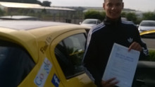 Julius van Bleek passed 1st time with us.