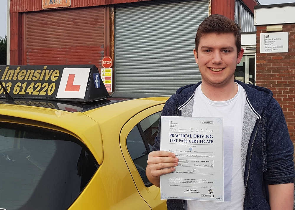 daniel bull passed first time
