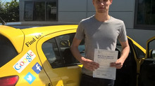 George phillips passed 1st time with us.
