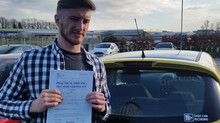 Jacob Doy passes first time