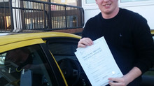 Joshua Russell passes first time with just 4 minor faults