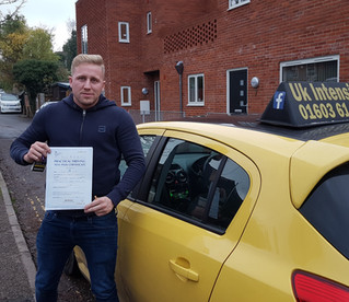 Stuart Atkins passes 1st time