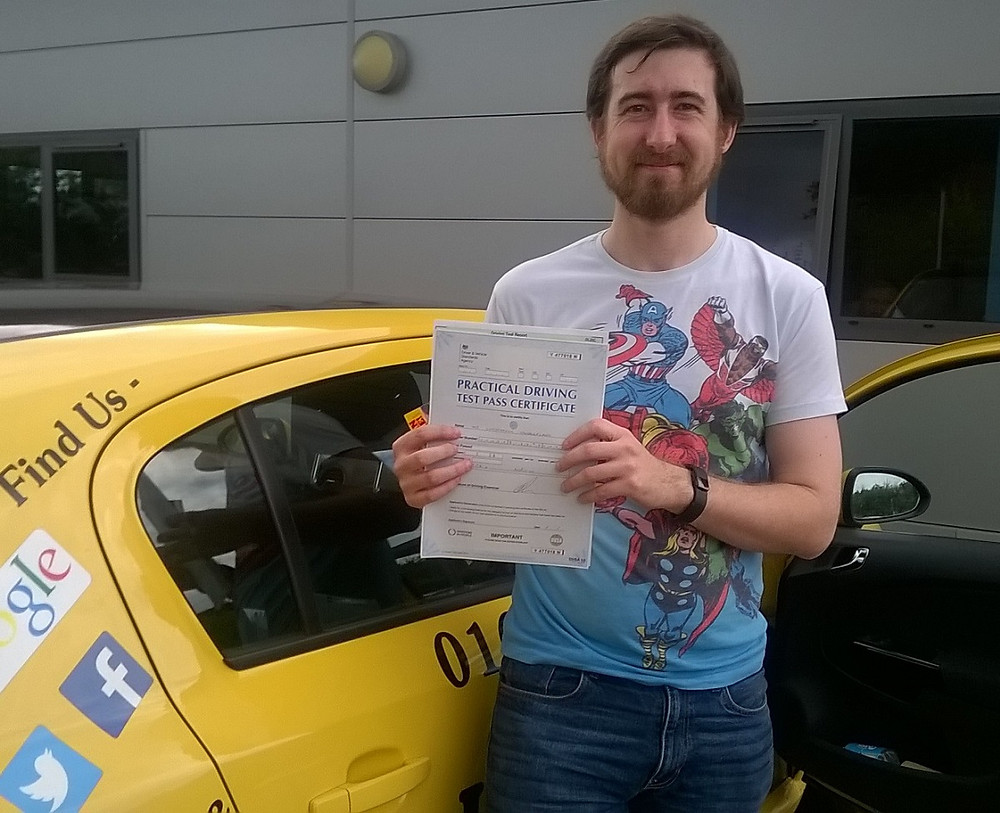 Christopher Vanderplank passed with just 4 minor faults. #intensivedrivingcourses #drivingschool #drivinglessons #norwich #learntodrive #ukintensive