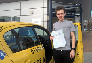 Christopher Parker passes first time on 5 day course.