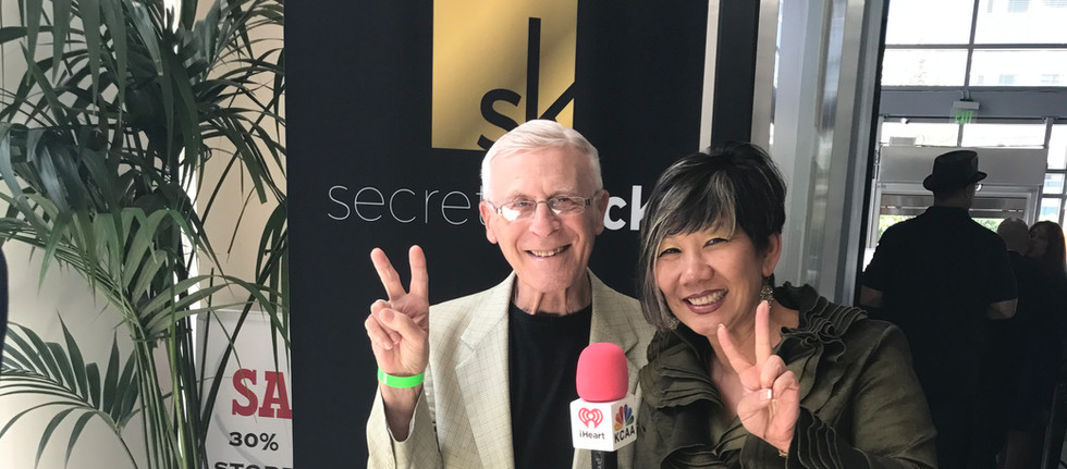 Inventor Ron Klein innovates with Dr. Ma