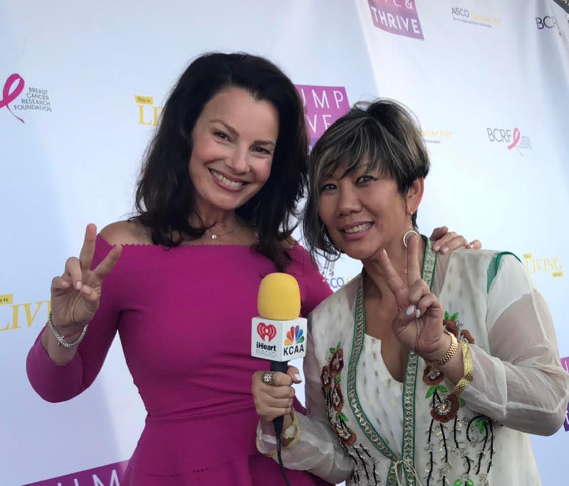 Fran Drescher with Dr. Marissa