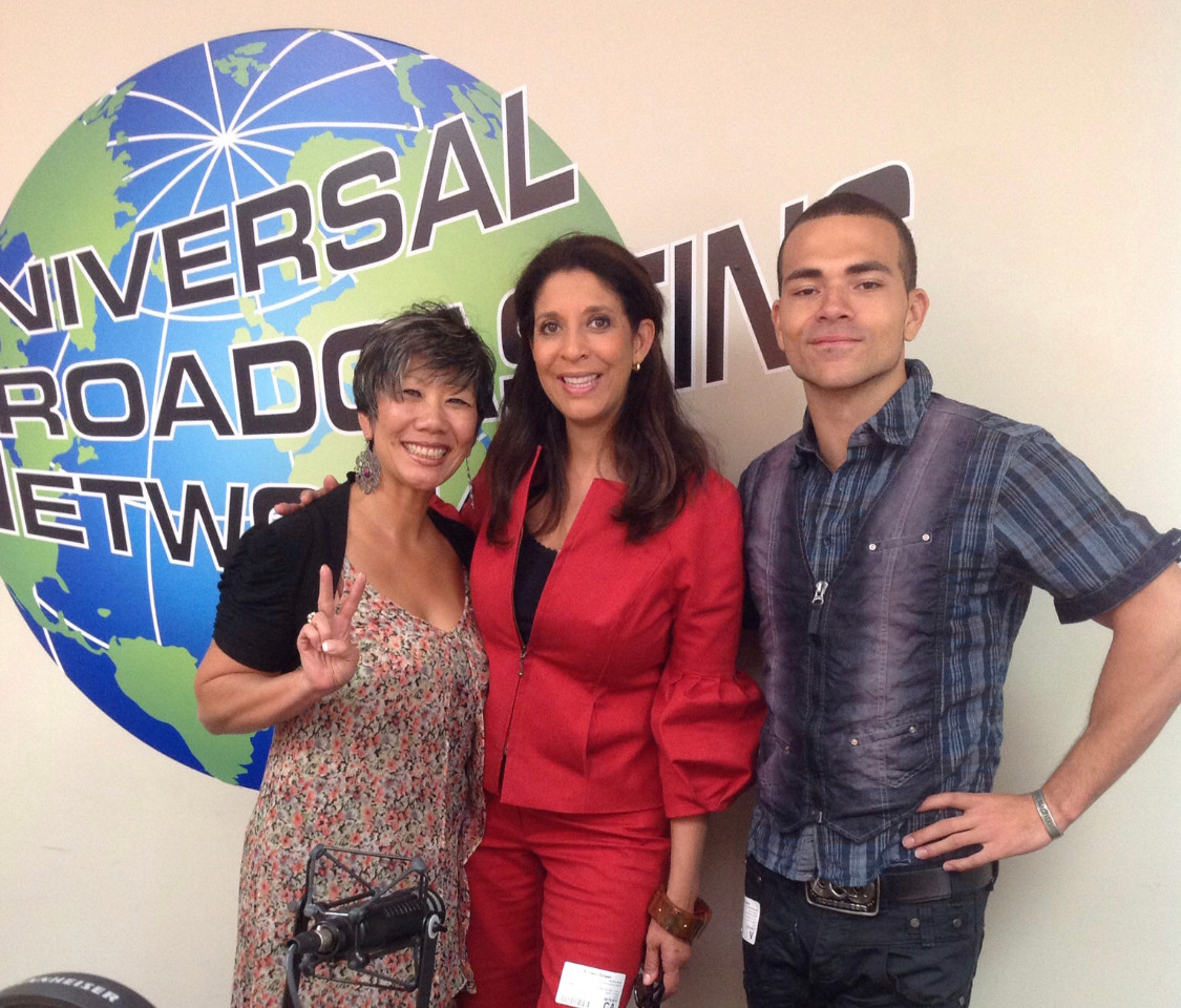 Fox anchor Christine Devine in studio