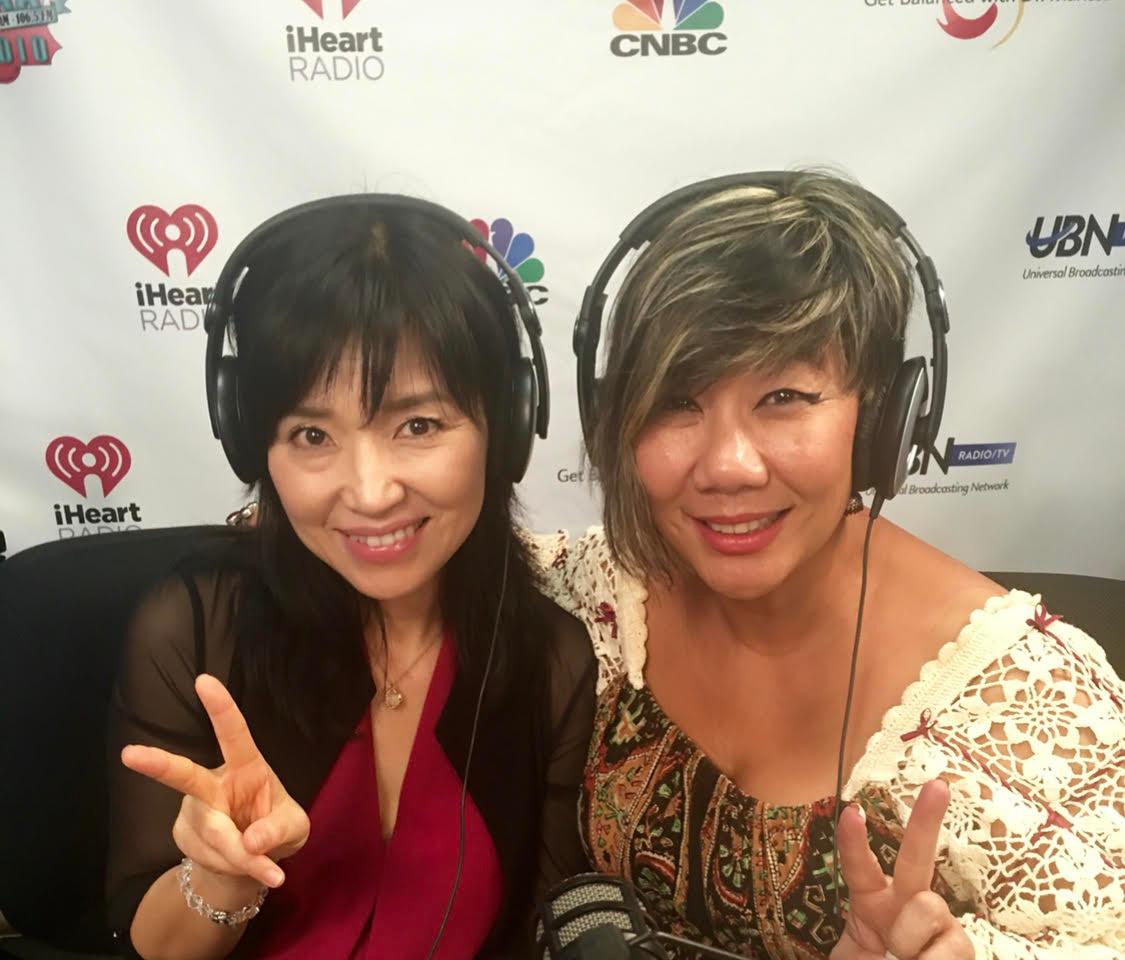 Keiko Matsui flashes peace with Dr. Mari
