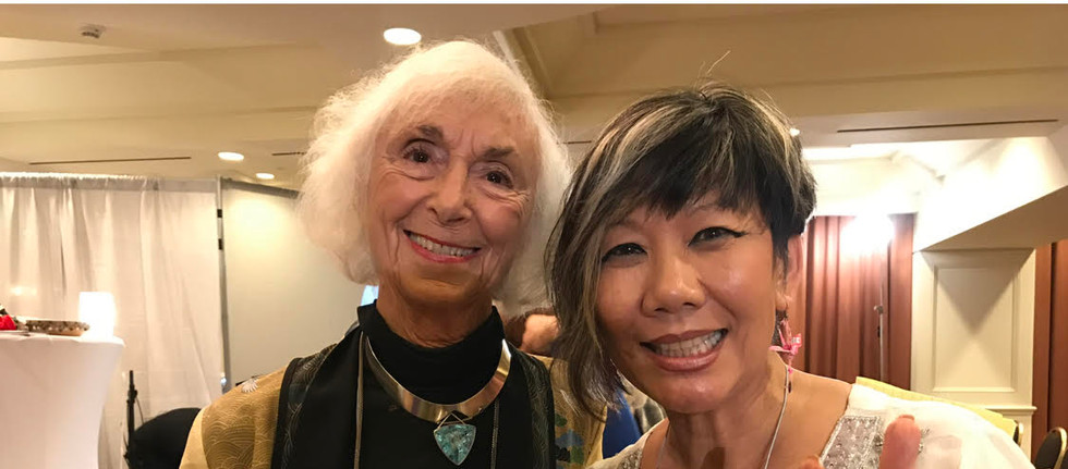 Barbara Marx Hubbard celebrates Mother's