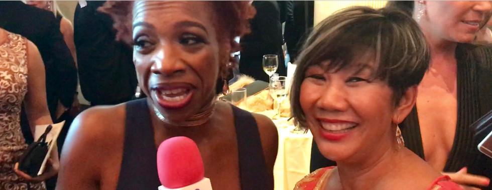 Lisa Nichols talks to Dr. Marissa in and