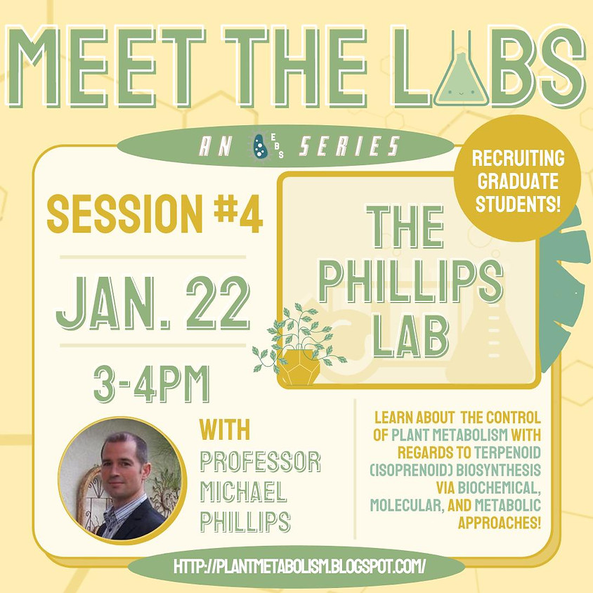Meet The Labs: The Phillips Lab