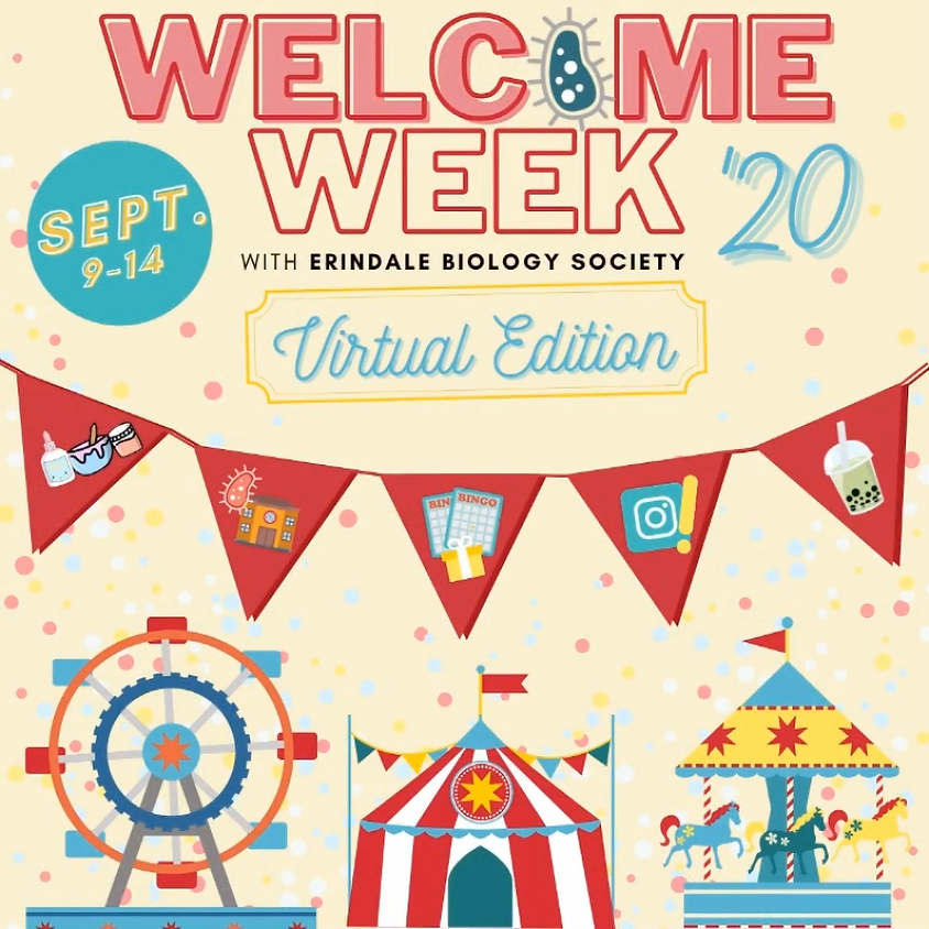 Welcome Week: Virtual Edition