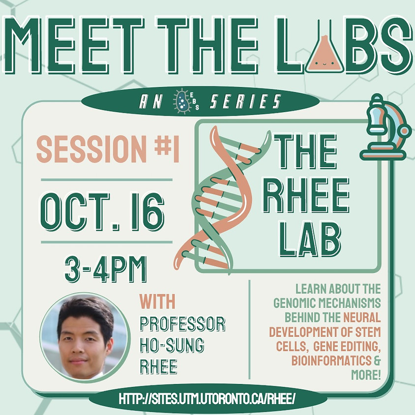 Meet The Labs: The Rhee Lab