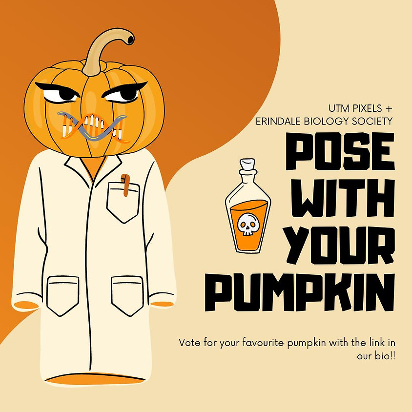 Pose With Your Pumpkin