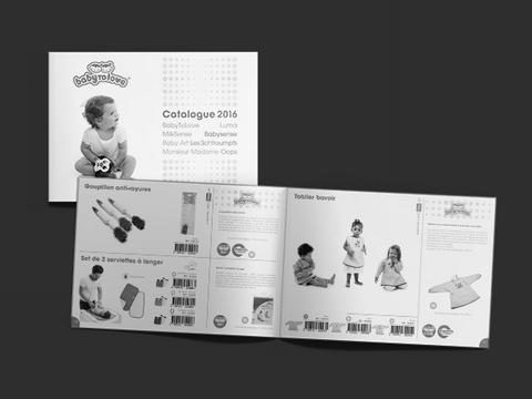 עיצוב קטלוג מוצרי ילדים
