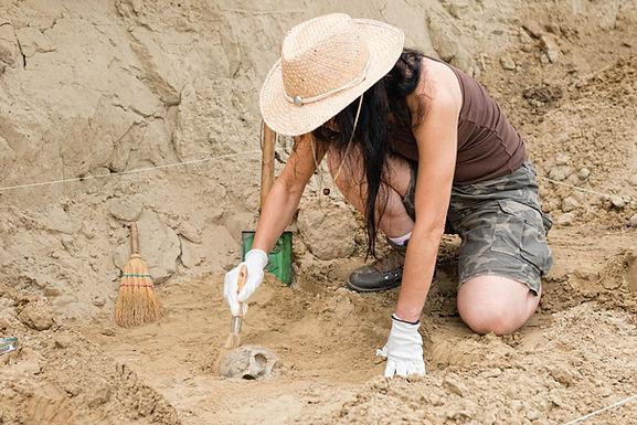 Métier de  l'Archéologie et de la Recherche