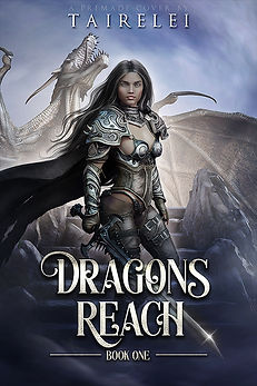 Dragons Reach premade book cover by Tairelei.jpg